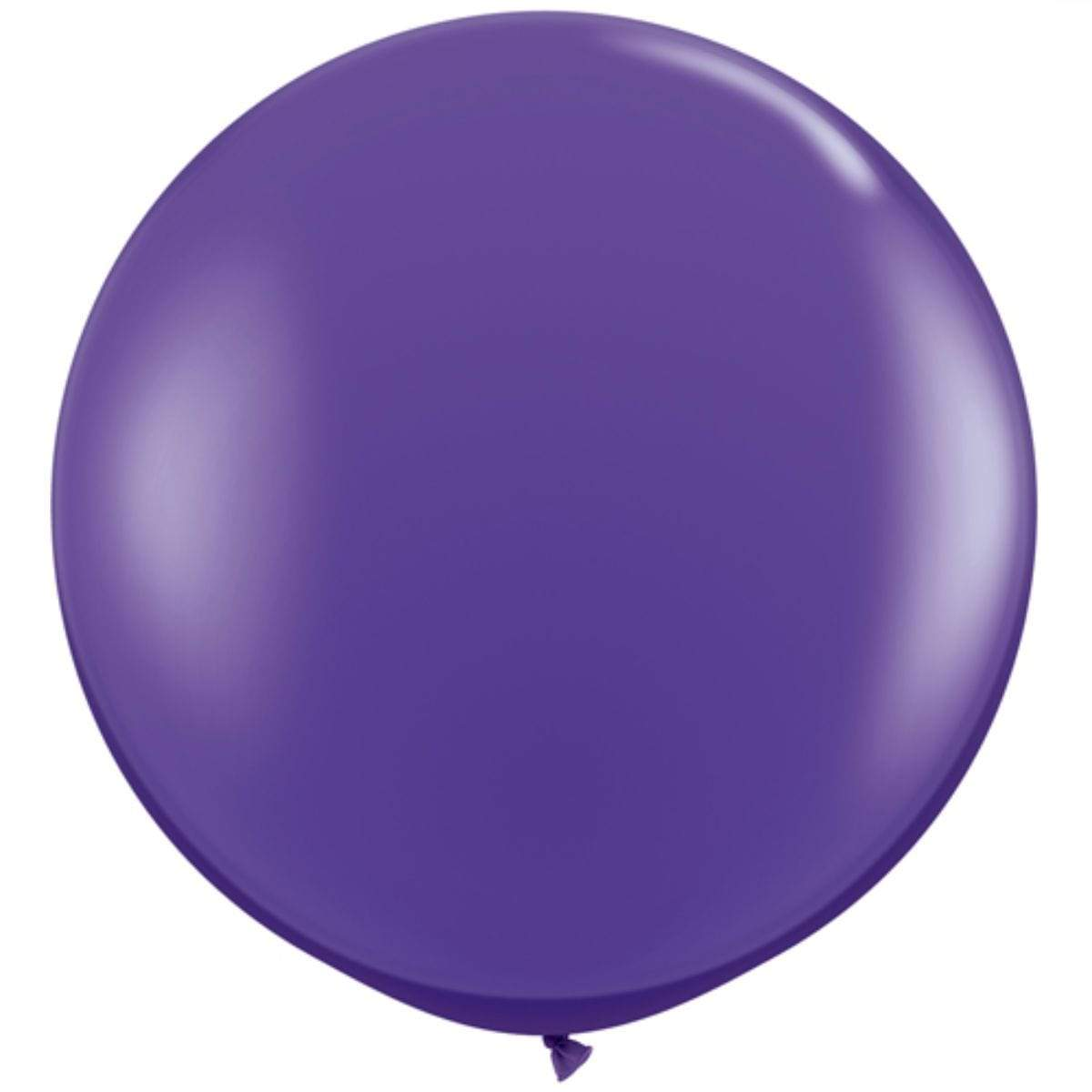 "36"" Purple Balloon 
