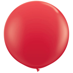 "36"" Big Round Balloon Red"