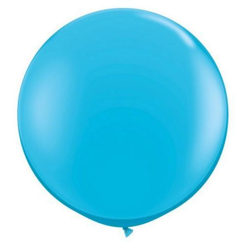 Blue 3ft Big Round Balloon  for Parties, Weddings and Events. Qualatex