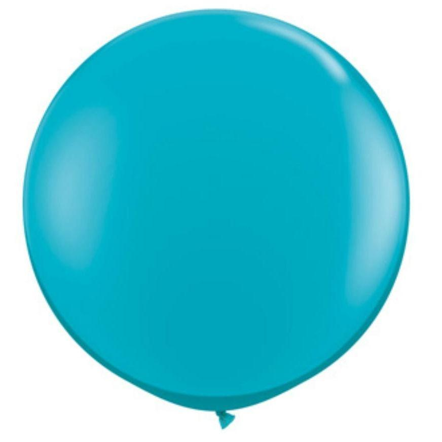 "Teal Round 36"" Balloon Qualatex"