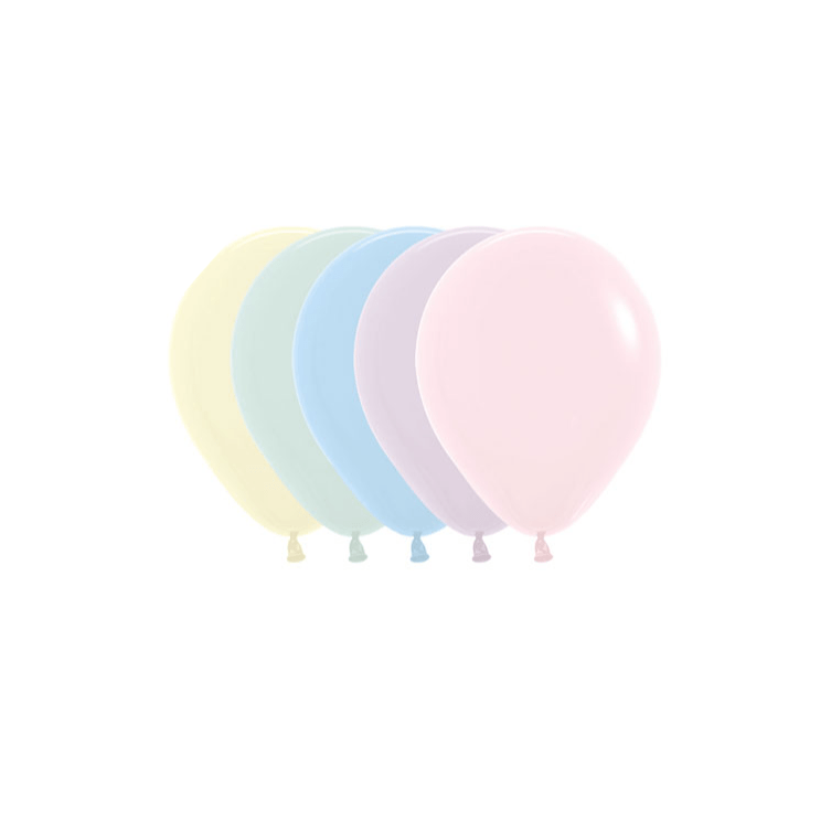 Mini Chalk Pastel Balloon Mix | Sempertex Pastel Balloons