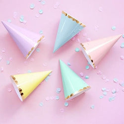 Pastel Mix Party Hat cones