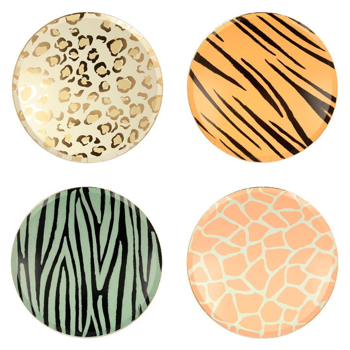 Animal Print Party Plates | Safari Party Supplies Meri Meri UK