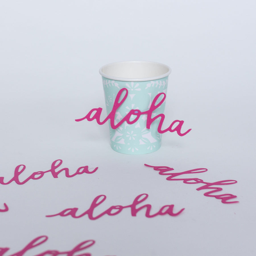 Aloha Paper Party Decorations