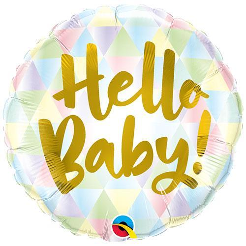 Hello Baby Balloon | Baby Shower Balloon