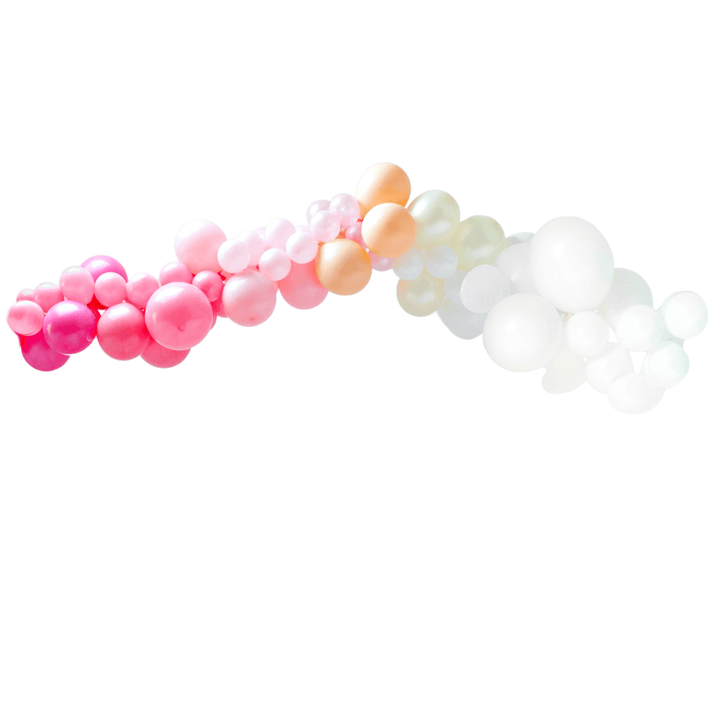 Pink Ombre Balloon Garland