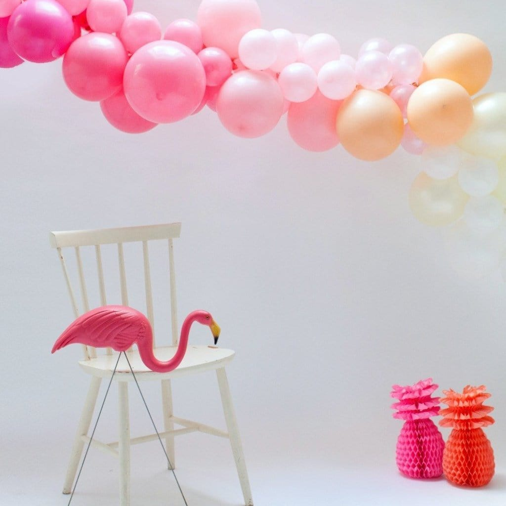 Balloon Garland Kit Pink Ombre | Balloon Installation Kit UK