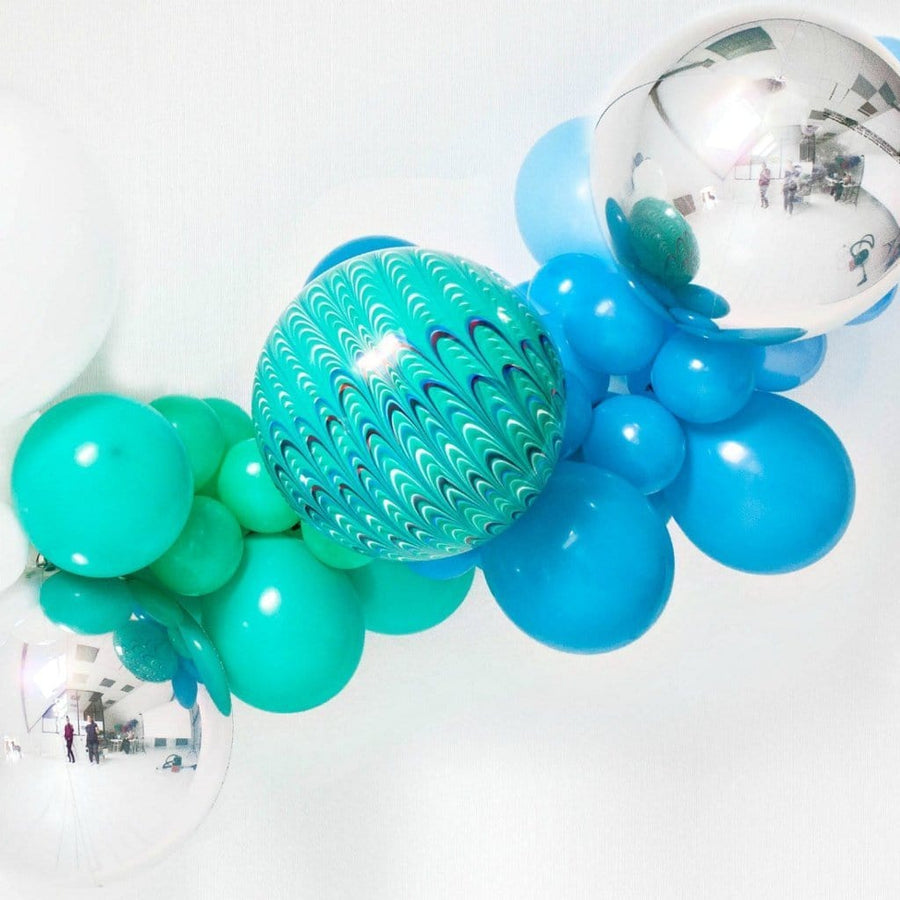 Blue Balloon Garland | Balloon Installation Kit UK