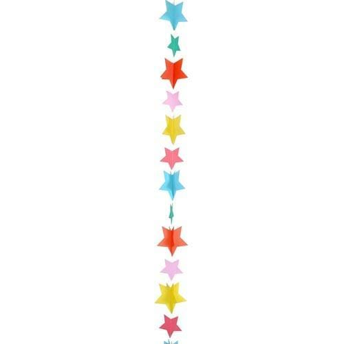 Rainbow Balloon tail Stars | Balloon Tail Decorations UK