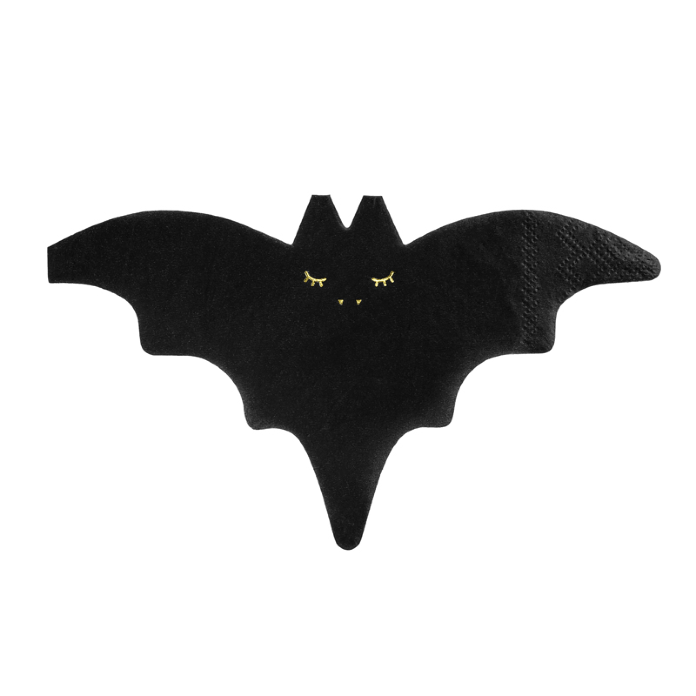 Bat Shaped Party Napkins | Halloween Party Supplies
