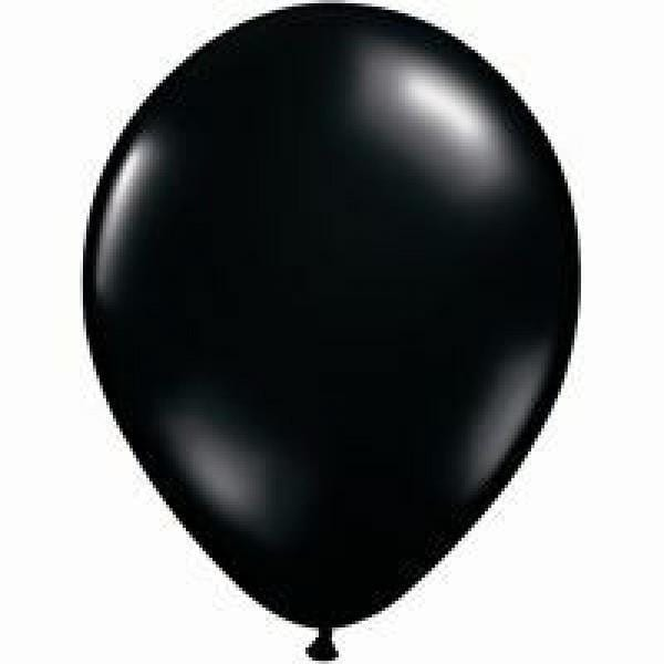 Black Balloon | Latex Balloons | Helium Filled Balloons