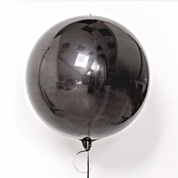 Black Orb Balloon 16""