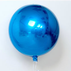 Blue Orb Balloon 16""