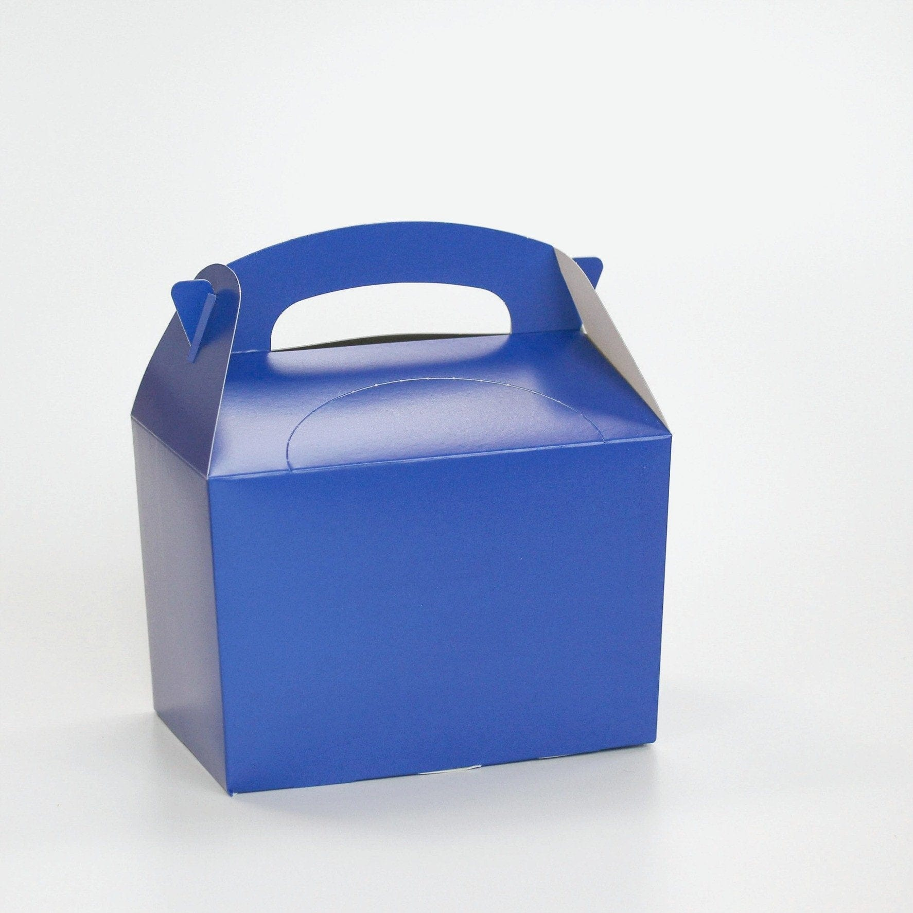 Blue Party Lunch Box | Coloured Party Boxes UK