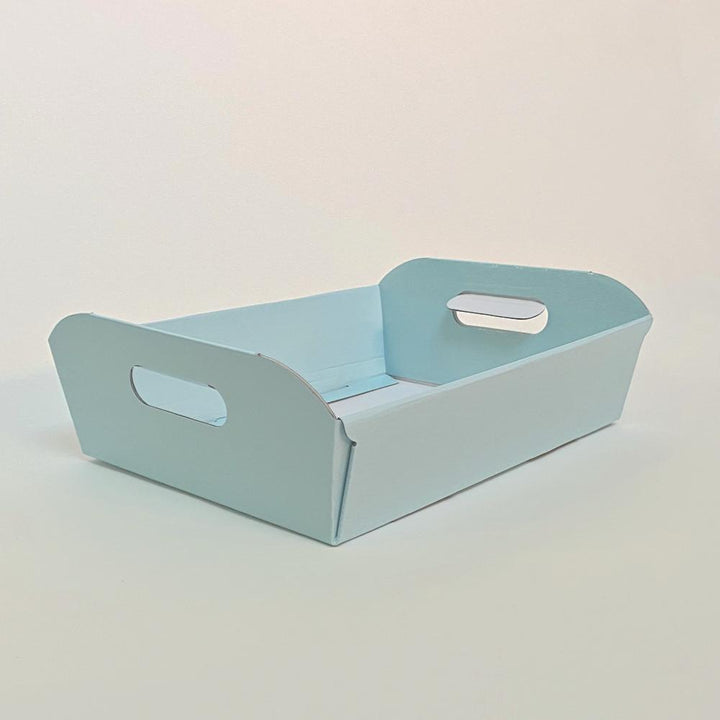 Large Hamper Serving Tray - Blue