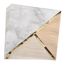 Party Napkins for Weddings - marble napkins