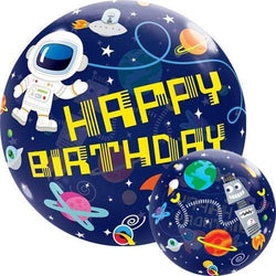 Bubble Balloon - Birthday Space 22""