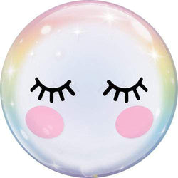 Bubble Balloon - Cute Eyelashes 22""