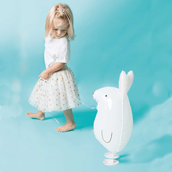 Walking Bunny Rabbit Balloon | Easter Balloon