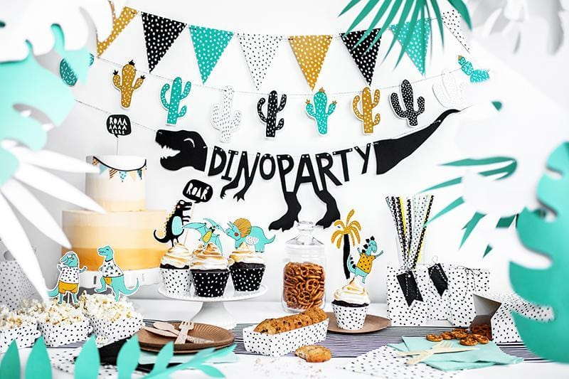 Cactus Party Bunting | Bunting for Kids Parties | Dinosaur Party Ideas
