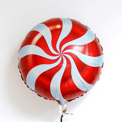 Candy Swirl Balloon - Red