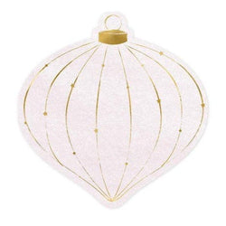 Christmas Bauble shaped Napkins Serviettes