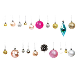 Christmas Baubles Set - Modern | Modern Christmas Tree Baubles