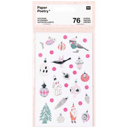 Christmas Nostalgic Stickers | Christmas Gifts and Packaging
