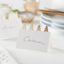 Christmas Place Card Settings | Table Place Settings