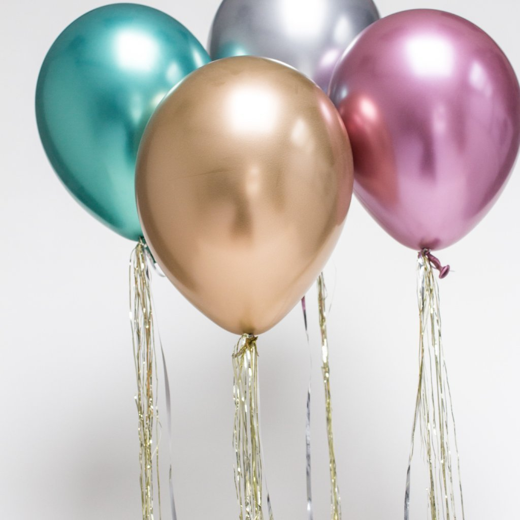 Chrome Balloons | Latex Balloons | Helium Party Balloons | Qualatex