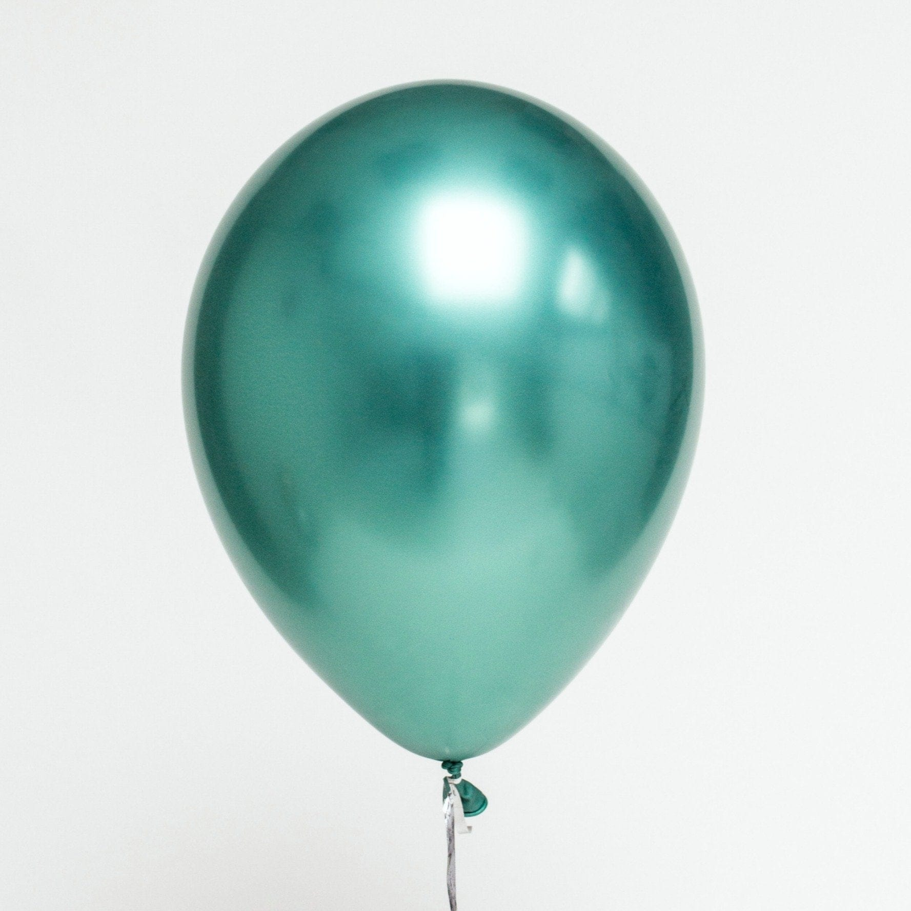 Green Chrome Balloons Qualatex Latex