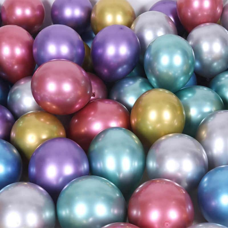 Purple Chrome Balloons | Latex Balloons | Helium Party Balloons | Qualatex