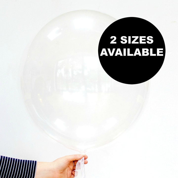 Clear Deco Bubble Balloons