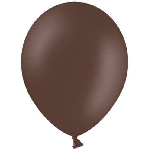 cocoa Brown Balloons