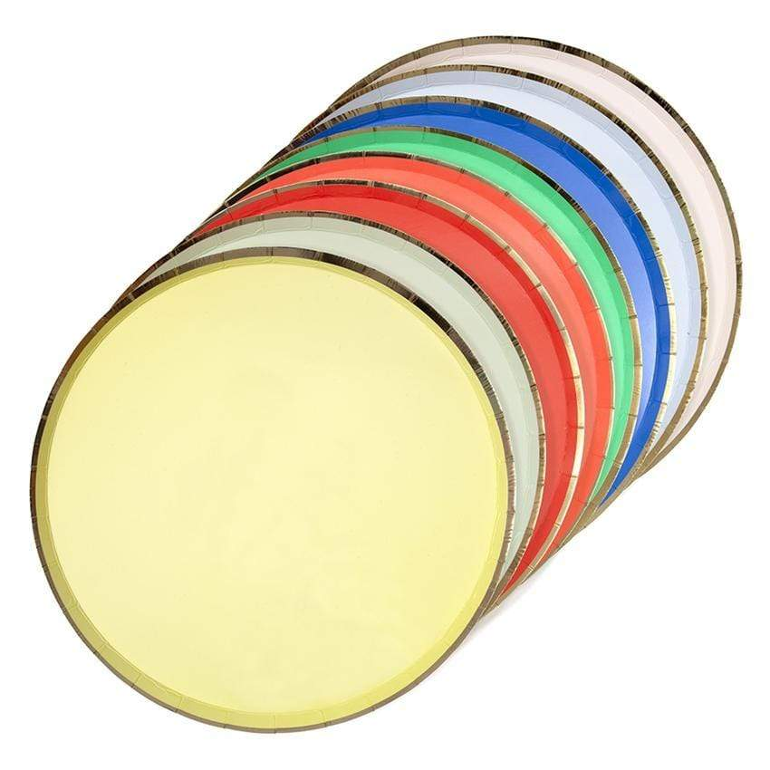 Colourful Palette Party Plates | Modern and Cool Party Supplies | Meri Meri UK