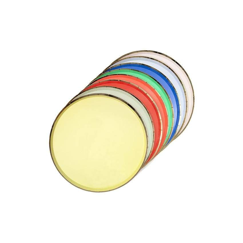 Colour Palette Side Plates | Colourful Modern Party Meri Meri UK