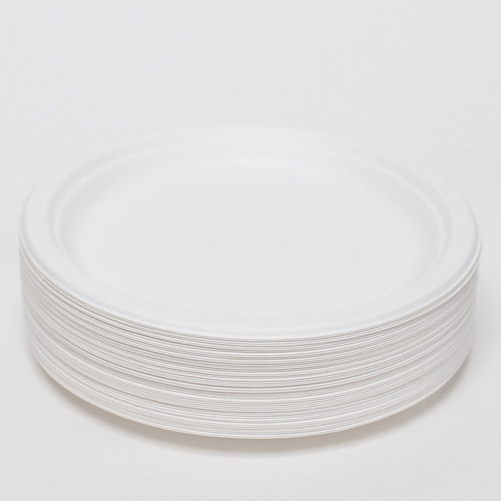 Compostable Bagasse Plates 9