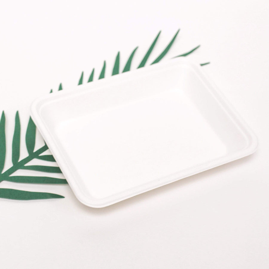 Eco Friendly Bagasse Plates Trays
