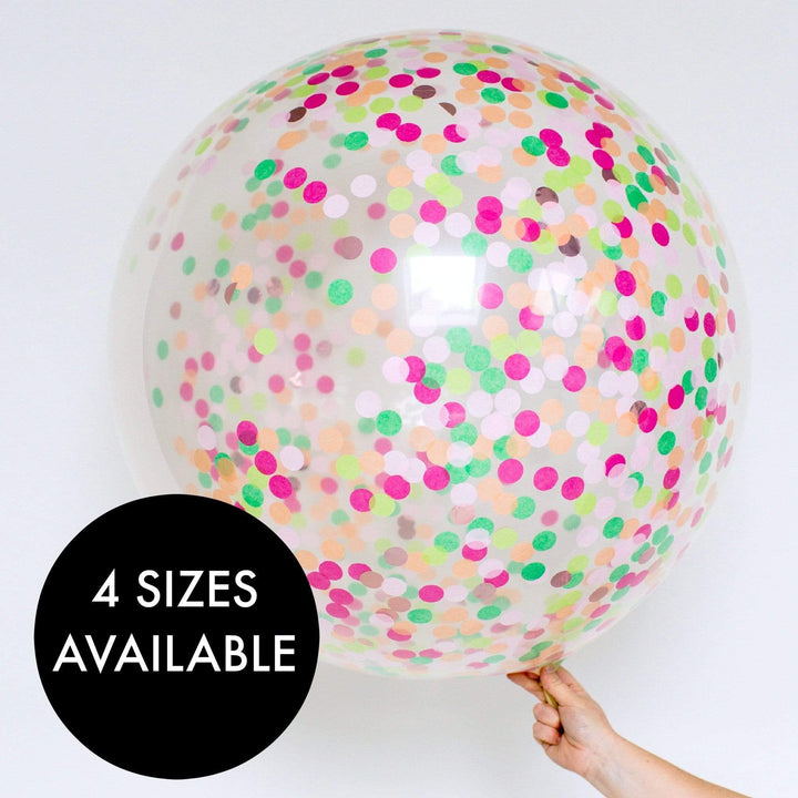 Confetti Balloons - Totally Tropical