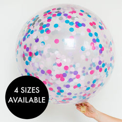 Confetti Balloons - Unicorn Wishes
