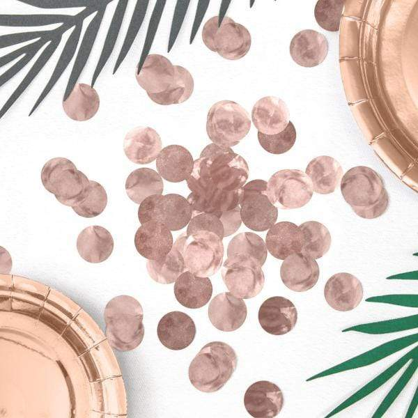Rose Gold Confetti | Rose Gold Table Confetti