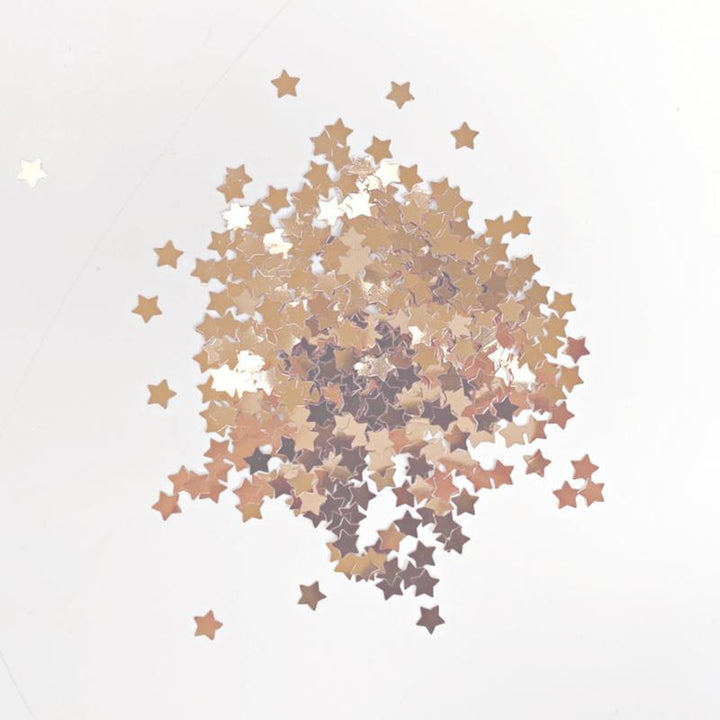 Confetti - Rose Gold - Stars