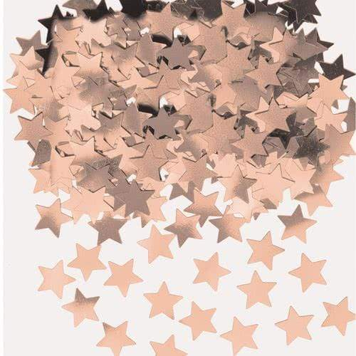 Rose Gold Star Confetti | Rose Gold Table Confetti