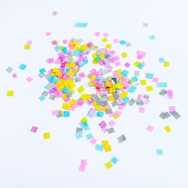 Paper Confetti Easter and Spring Candy Colours