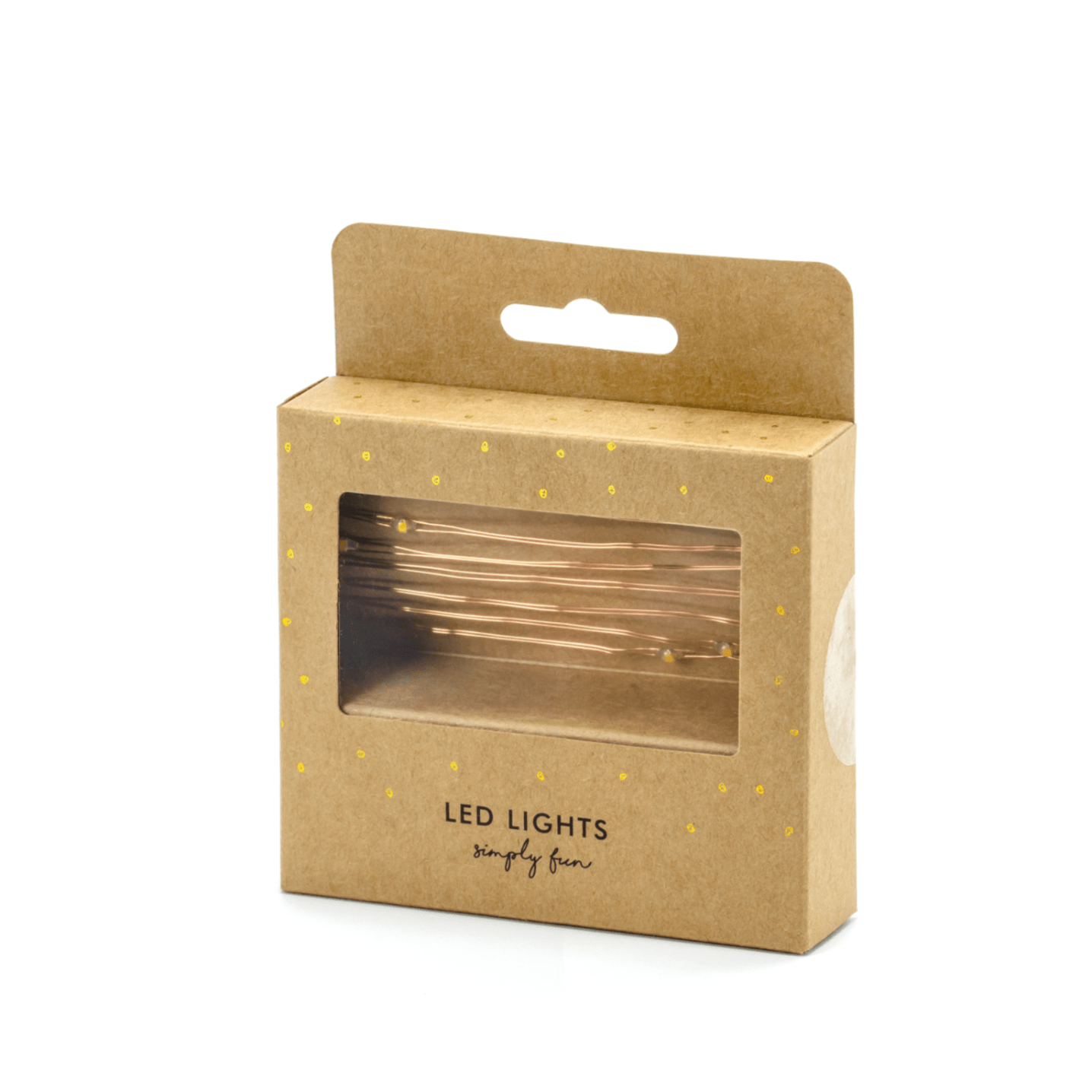 Copper Light String 20 Lights Battery UK