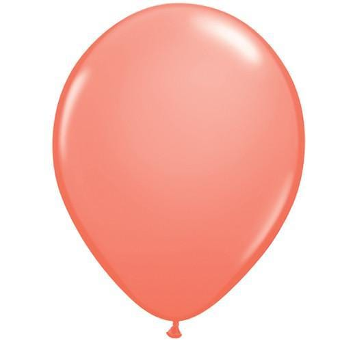 Coral Peach Balloons | Latex Balloons | Qualatex Balloons