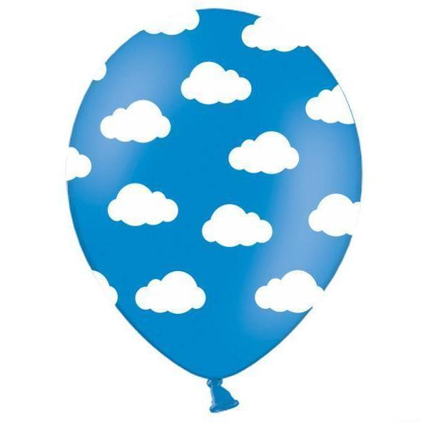 Blue Cloud Balloons