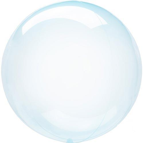 Crystal Clearz Transparent Balloons - Blue