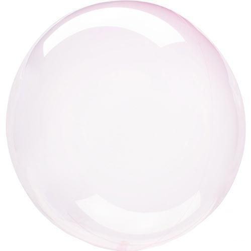 Crystal Clearz Transparent Balloons - Pale Pink
