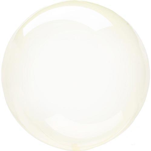 Crystal Clearz Transparent Balloons - Pale yellow